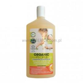 Żel do Czyszczenia Gresu i Terakoty z Organicznymi Olejkami z Drzewa Herbacianego i Pomarańczy, Organic People, 500ml