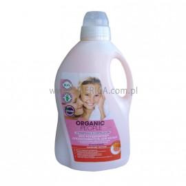 Płyn Zmiękczający  do prania z Grejpfrutem i Olejkami Kwiatów Pomarańczy, Organic People, 1,5 l