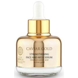 Wzmacniające Serum do Twarzy, Szyi i Dekoltu, Caviar Gold, 30ml