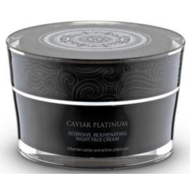 Intensywnie Regenerujący Krem do Twarzy na Noc, Caviar Platinum, 50ml