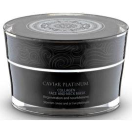 Regeneracja i Odżywienie, Kolagenowa Maseczka do Twarzy i Szyi, Caviar Platinum, 50ml