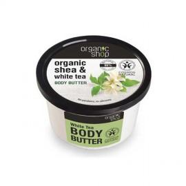 Biała Herbata, Organiczne Masło do Ciała, 250ml