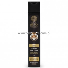 Fury of the Tiger 2-in-1 Energy Shampoo for Body&Hair, 250ml