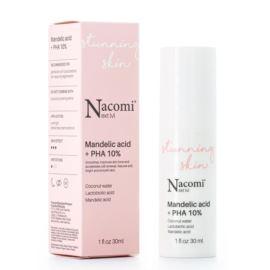 Peelingujące Serum do Twarzy Next Level z Kwasem Migdałowym + PHA 10%, Nacomi, 30 ml