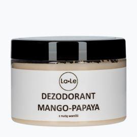 Dezodorant Mango-Papaya z Nutą Wanilii, La-Le, 150 ml
