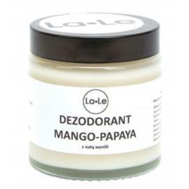 Dezodorant Mango-Papaya z Nutą Wanilii, La-Le, 120 ml