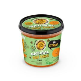 Tonizujący Peeling do Ciała C+ Citrus, Planeta Organica, 360 ml