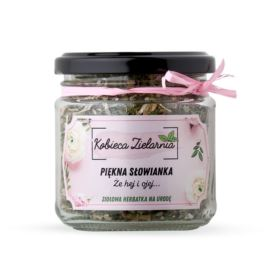 """Ziołowa Herbatka """"Piękna Słowianka, Że Hej i Ojej..."""", Moja Farma Urody, 25 g"""