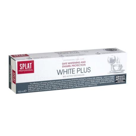 Pasta do Zębów White Plus, Splat, 100 ml