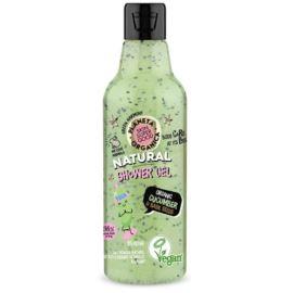 Relaksujący Żel pod Prysznic Ogórek i Nasiona Bazylii, Planeta Organica, 250 ml