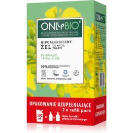 Hipoalergiczny Żel do Mycia Twarzy, Refill Pack, OnlyBio, 500 ml