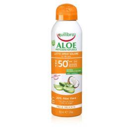 Aloesowe Mleczko do Opalania w Sprayu SPF50, Equilibra, 150 ml