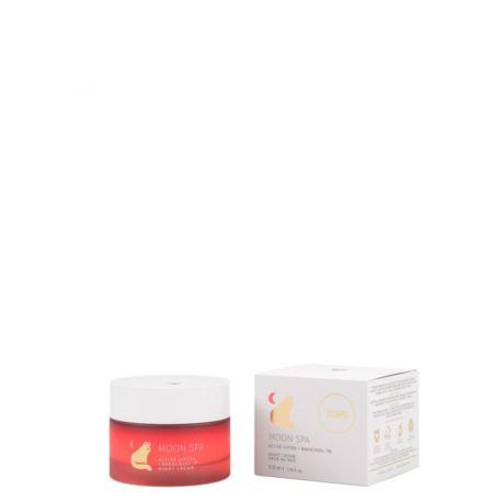 Krem do Twarzy na Noc Moon Spa Aktywne Lipidy + Bakuchiol, Yope, 50 ml