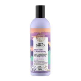 Odżywka do Włosów Farbowanych z Jagodami Syberyjskiego Jałowca - Ochrona Koloru, Taiga Siberica, 270 ml