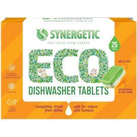 Ekologiczne Tabletki do Zmywarki, Synergetic, 500 g / 25 szt.
