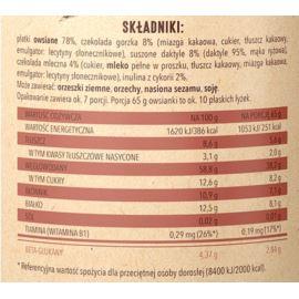 Owsianka Czekoladowa z Inuliną, One Day More, 65 g