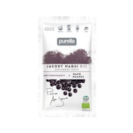 Jagody Maqui - Sproszkowane Owoce, Purella, 21 g