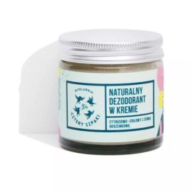Delikatny Dezodorant z Kremie Bezzapachowy, Mydlarnia Cztery Szpaki, 60 ml