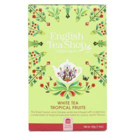 Herbata Biała z Owocami Tropikalnymi, English Tea Shop, 20 torebek