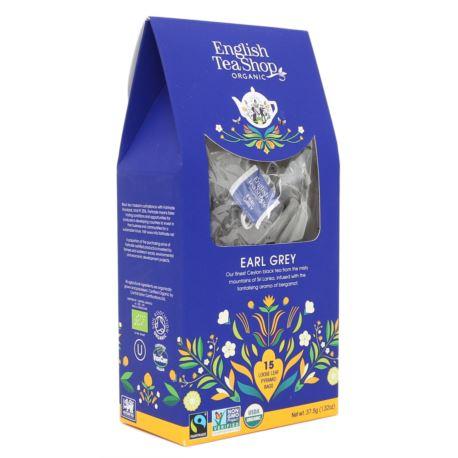 Herbata Earl Grey, English Tea Shop, 15 piramidek