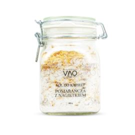 Sól do Kąpieli Pomarańcza z Nagietkiem, Vao Lab, 650 g