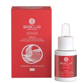 Serum do Twarzy Esteticus na Noc z Czystym Retinolem, Koenzymem Q10 i Skwalanem, Basic Lab, 15 ml