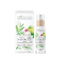Serum do Twarzy Detoksykująco-Matujące, Bielenda Eco Nature, 30 ml