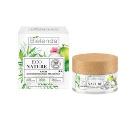 Krem do Twarzy Detoksykująco-Matujący, Bielenda Eco Nature, 50 ml