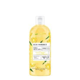 Micelarna Woda Nawilżająco-Rozświetlająca do Oczyszczania Twarzy z Ananasem, Bielenda Eco Sorbet, 500 ml