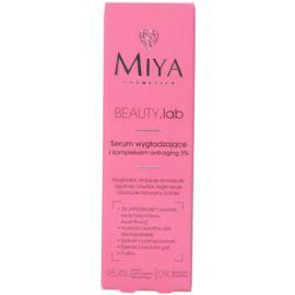Serum Wygładzające z Kompleksem Anti-Aging 5%, Miya, 30 ml