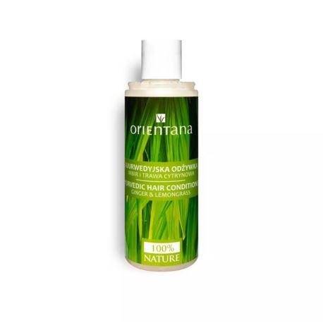 Ajuwerdyjska Odżywka do Włosów Imbir i Trawa Cytrynowa, Orientana, 210 ml