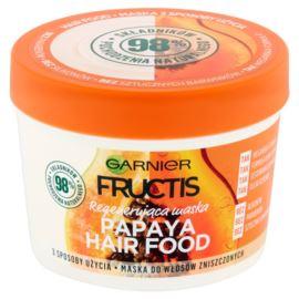 Regenerująca Maska do Włosów Zniszczonych, Papaya Hair Food, Garnier Fructis, 390 ml