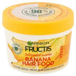 Odżywcza Maska do Włosów Bardzo Suchych, Banana Hair Food, Garnier Fructis, 390 ml
