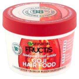 Nadająca Blask Maska do Włosów Farbowanych, Goji Hair Food, Garnier Fructis, 390 ml