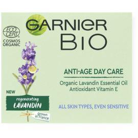 Lawendowy Krem Przeciw Oznakom Starzenia na Dzień, Garnier Bio, 50 ml