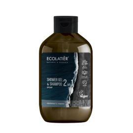 Szampon i Żel pod Prysznic 2w1 dla Mężczyzn Sport Grejpfrut i Werbena, Urban Ecolatier, 600 ml