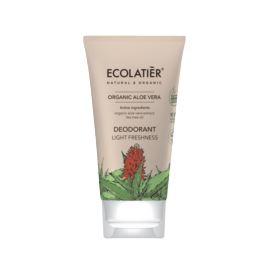 Dezodorant z Aloesem, Lekka Świeżość, Organic Aloes, Ecolatier, 40 ml