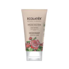 Dezodorant z Różą, Delikatna Pielęgnacja, Organic Wild Rose, Ecolatier, 40 ml