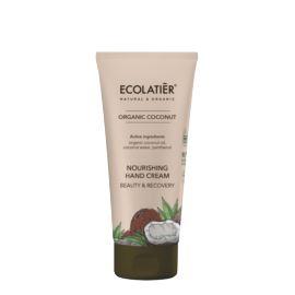 Odżywczy, Kokosowy Krem do Rąk , Piękno i Odnowa, Organic Cocount, Ecolatier, 100 ml