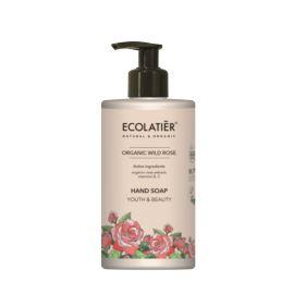 Mydło do Rąk Młodość i Piękno z Różną Stulistną, Organic Wild Rose, Ecolatier, 460 ml
