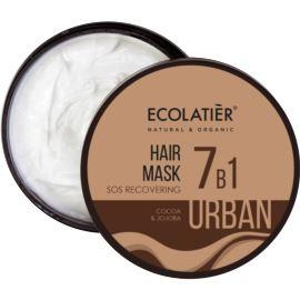 Maska do Włosów 7w1 z Kakao i Olejem Jojoba, Anti-Pollution, Urban Ecolatier, 380 ml