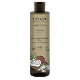 """Szampon-Balsam do Włosów 2w1 """"Odżywienie i Regeneracja"""", Coconut, Ecolatier, 350 ml"""
