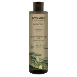 """Szampon-Balsam do Włosów 2w1 """"Miękkość i Blask"""", Olive, Ecolatier, 350 ml"""