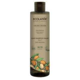 Głęboko Odżywiający Szampon-Balsam do Włosów 2w1, Argana, Ecolatier, 350 ml