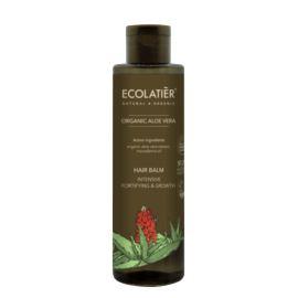 Wzmacniający i Pobudzający Wzrost Balsam do Włosów, Aloes, Ecolatier, 250 ml