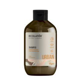 Wzmacniający Szampon do Włosów Osłabionych, Masło Shea i Magnolia, Ecolatier, 600 ml