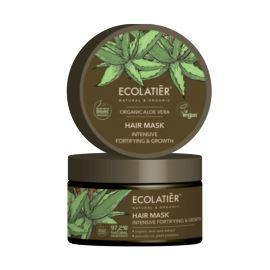 Maska do Włosów Wzmacniająca i Stymulująca Wzrost, Aloes, Ecolatier, 250 ml