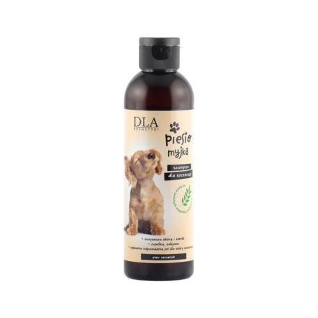 Piesiomyjka, Naturalny Szampon dla Szczeniąt, DLA Kosmetyki, 200 ml