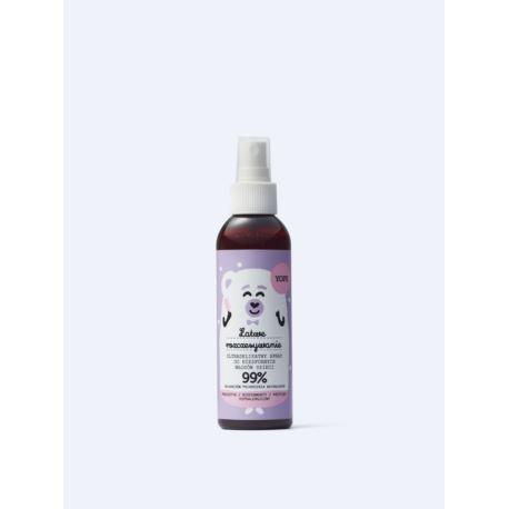Ultradelikatny Spray Ułatwiający Rozczesywanie Włosów dla Dzieci, Yope, 150 ml