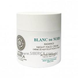 """Rozświetlający Krem do twarzy na noc ,,Blanc de Noirs"""", 50 ml"""